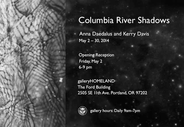 Untitled (detail) from Columbia River Shadows series, 2014